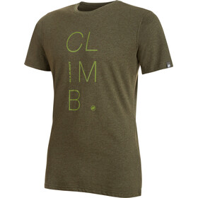 Mammut Massone - T-shirt manches courtes Homme - olive